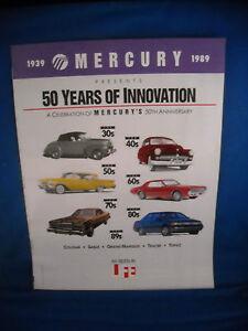 1939-1989-MERCURY-SPECIAL-EDITION-LIFE-MAGAZINE-MERCURYS-50TH-ANNIVERSARY-NOS