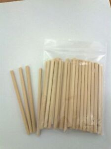100-X-89mm-3-5-LONG-4MM-DIA-WOODEN-LOLLY-POP-STICKS-LOLLIPOP-COOKIE-CRAFT