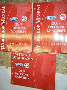 2007-FORD-FREESTAR-MERCURY-MONTEREY-FACTORY-WORKSHOP-MANUALS-SERVICE-SHOP-REPAIR