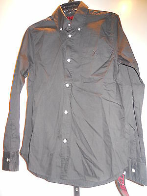 Tripp Old Stock Black X Rocker Psychobilly Rockabilly Gothic Shirt Men Xs