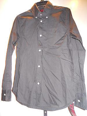 Tripp Old Stock Black X Rocker Psychobilly Rockabilly Gothic Shirt Men Xs