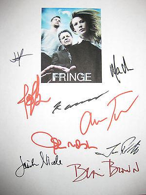 Fringe Signed TV Script X9 Anna Torv Joshua Jackson John Noble Abrams reprint
