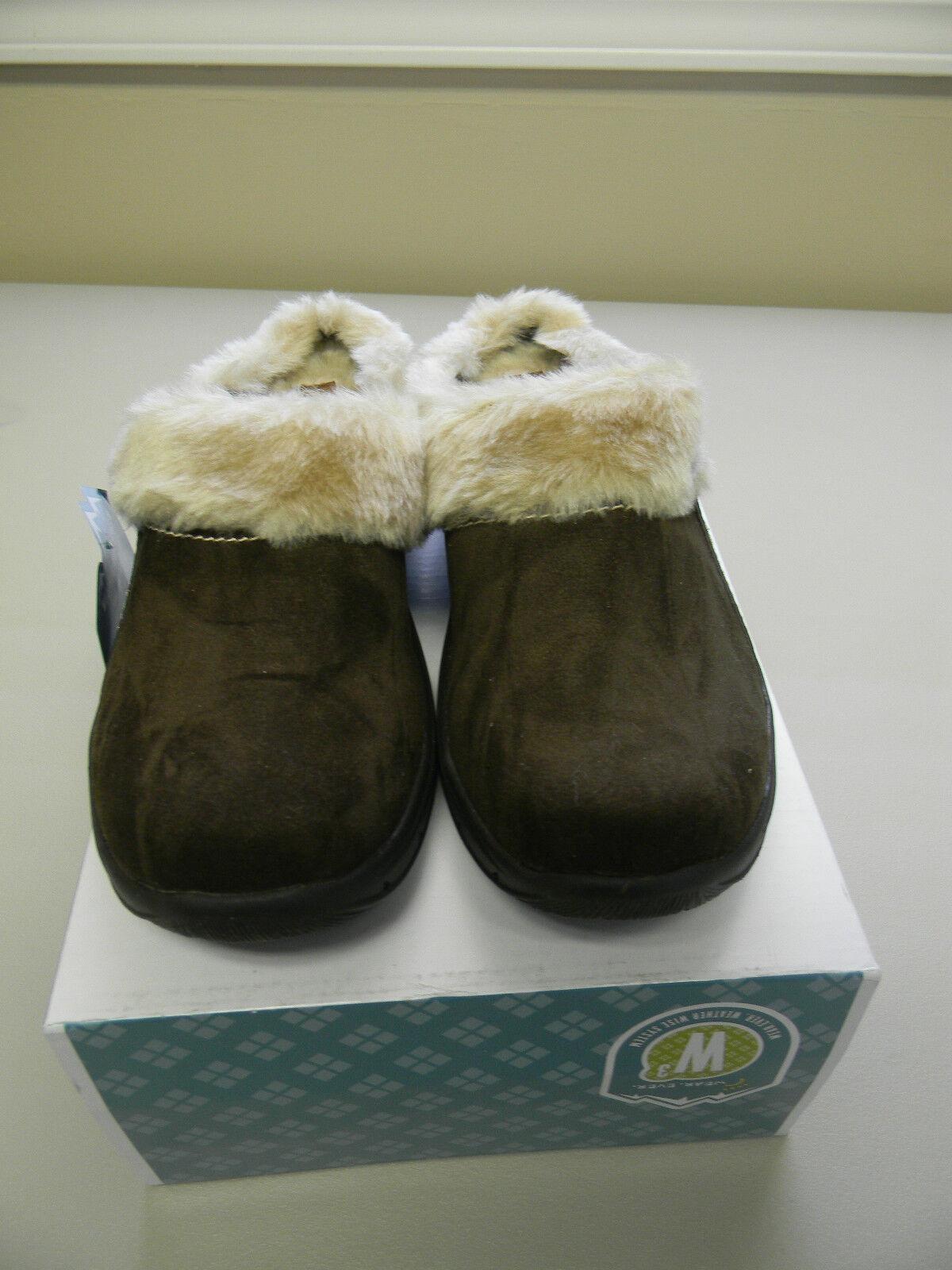 Womens Ladies Wear Ever alessa Shoes Brown Weather Resistant Ladies