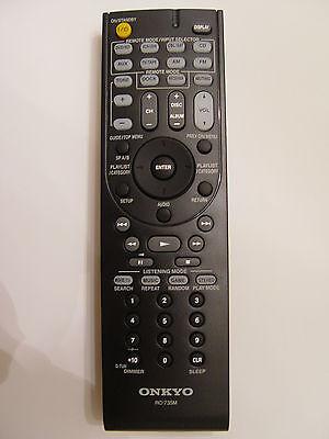 Onkyo Rc-735m Remote Control Part 24140735 For Ht-r370 Ht-s3200 Tx-sr307