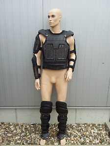 GERMAN-POLICE-Anti-Riot-Gear-XXL-Body-Armor-Suit-Protect-Body-Protection-SWA