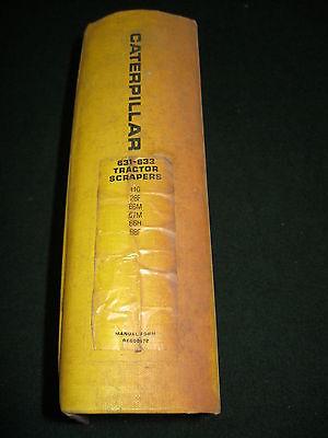 Caterpillar 631 633 Tractor Scraper Service Manual