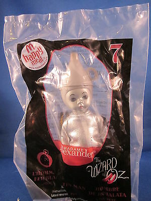 Mcdonalds Happy Meal Madame Alexander Wizard Of Oz Tin Man Doll 7 2008