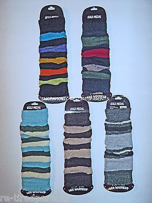 Leg Warmers – Fashion - Athletic - Striped - Teens - Ladies – One Size - $12