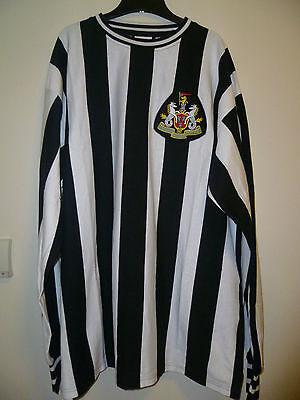 Bnwt Newcastle United Home Retro L/S Shirt 1970