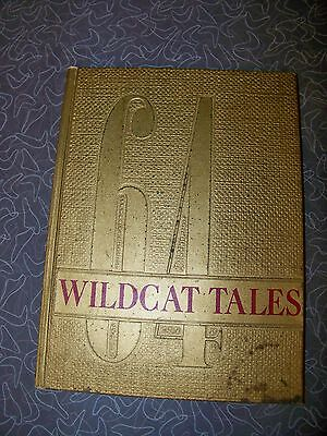 1964 Monroe Iowa Yearbook Wildcat Tales The New Monroe Community School on Rummage