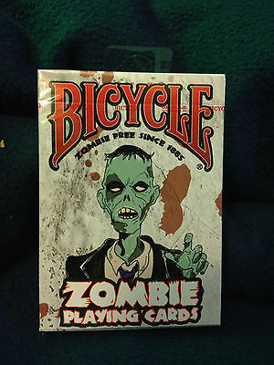 Bicycle Zombie Playing Cards Deck  New sealed!
