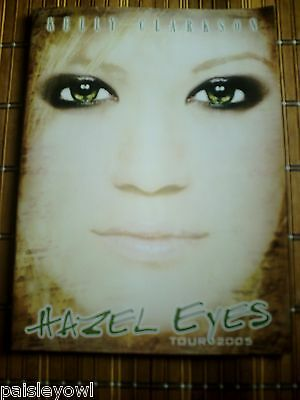 Kelly Clarkson Concert Program  2005 Hazel Eyes Tour