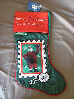 Brand 20 Arthur Christmas Postage Stamp Santa Stocking Red/green/white