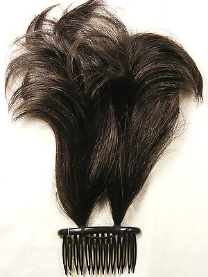 Hairpiece Comb Style Synthetic 5 Shades Of Brown Eastern International
