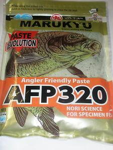 Marukyu Paste mix Fishing bait AFP 320 Nori Green