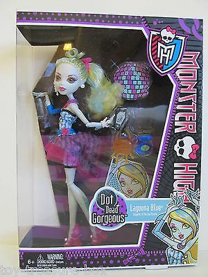 Monster High Dot Dead Gorgeous Lagoona Blue Doll - Daughter of the Sea Monster