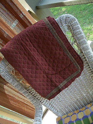 Jcpenney Home Collection Euro Pillow Sham 26 X 26 Rust With Raised Gold Border