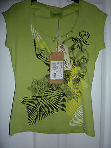 OXBOW-Light-Green-Ayala-ARTWORKS-T-Shirt-NWT