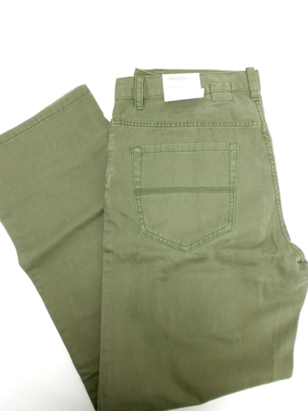 New Mens Timberland Classic Fit 5 Pocket Jean Style Pant Khaki Olive Black
