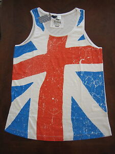 H-M-UNION-JACK-Tank-Tops-NEW-with-tag-Sizes-XS-S-M-L-XL