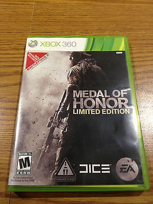 ** Medal of Honor Limited Edition (Xbox 360, 2010) **