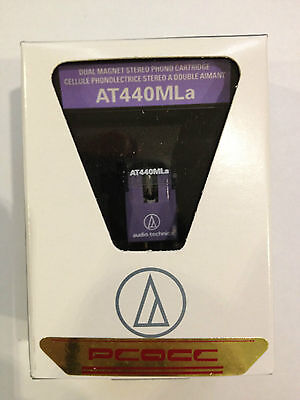 Audio Technica AT-440MLa Moving magnet Cartridge, made in Japan