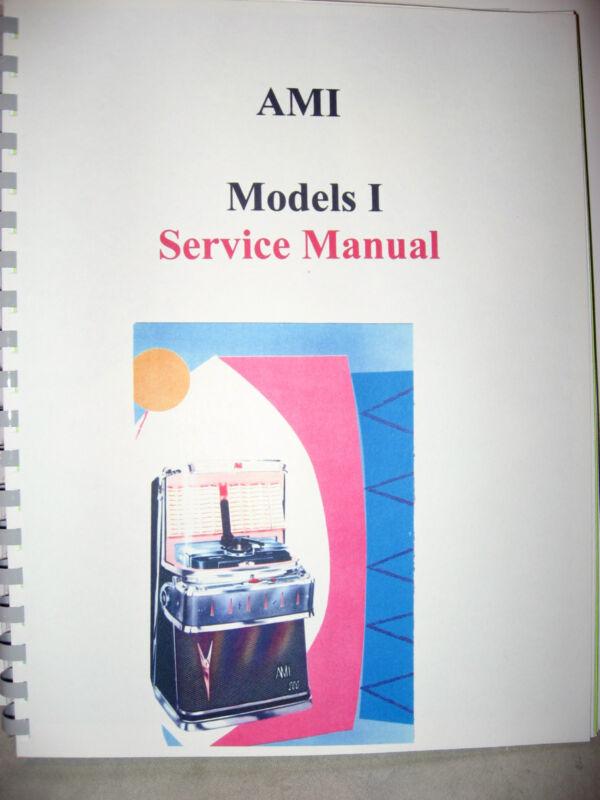AMI Model I Jukebox Service Manual