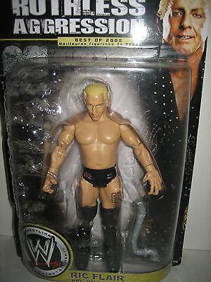 Wwe Ric Flair Wrestling Figure Ruthless Aggression Classic Nwa Wcw Superstars