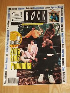 VERY RAR * Tylko Rock 9 1999* The Beatles on cover * Vanilla Fudge * Roskilde 99 - <span itemprop='availableAtOrFrom'>Gdynia, Polska</span> - VERY RAR * Tylko Rock 9 1999* The Beatles on cover * Vanilla Fudge * Roskilde 99 - Gdynia, Polska