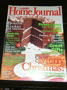 Ladies-Home-Journal-Magazine-Holiday-Cake-Cover-December-2006