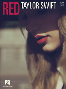 TAYLOR-SWIFT-RED-PIANO-VOCAL-GUITAR-PVG-SONGBOOK-NEW-BOOK-JUST-RELEASED