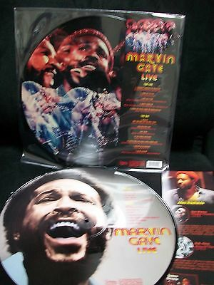 Marvin Gaye Live Picture Disc Lp What's Going On Lets Get It On Sexual Healing