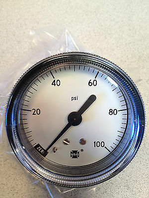 Pressure Gauge 100 Psi Usg
