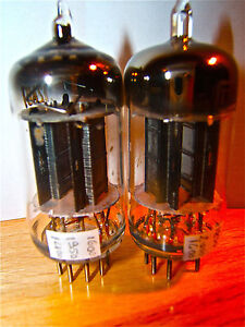 "Tubes ""SQUARE"" getter 12au7/ecc82 tested""1950"" MAGIC TUBES - Italia - Tubes ""SQUARE"" getter 12au7/ecc82 tested""1950"" MAGIC TUBES - Italia"