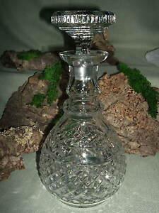 kristall cognac lik r whisky karaffe 532 ebay. Black Bedroom Furniture Sets. Home Design Ideas