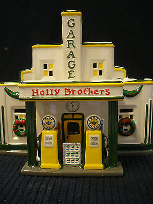 Department Dept 56 Original Snow Village Holly Brothers Garage 54854 Retired