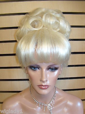 Vegas Girl Wigs Cinderella Style In White Blonde Available In All Colors Wigs