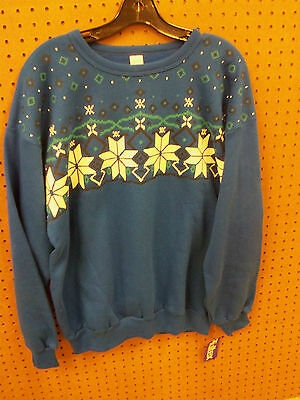 Tultex Blue Sweatshirt Xl