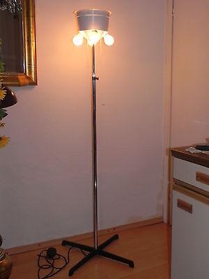 GROSSE Stehlampe Boden STAFF Lampe FLUTER Chrom Stehlampen Lampen