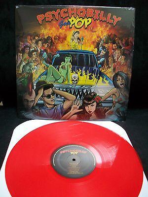 Psychobilly Goes Pop - V/a Vinyl Lp Rockabilly Koffin Kats Meteors Nekromantix