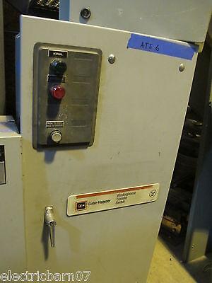 Cutler Hammer Athsfda30100esu 100 Amp Automatic Transfer Switch - Ats6 New