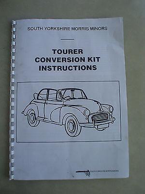 morris minor convertible kit instructions