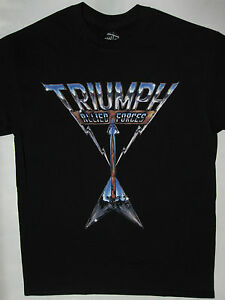 triumph allied forces t shirt s xxl night ranger loverboy april wine y t. Black Bedroom Furniture Sets. Home Design Ideas