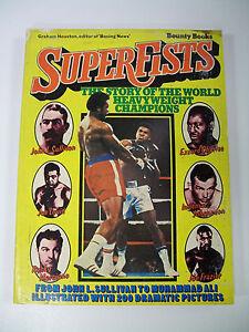 SUPERFISTS-BOUNTY-BOOKS-BOXING-WORLD-HEAVYWEIGHT-CHAMPIONS-1975-VINTAGE