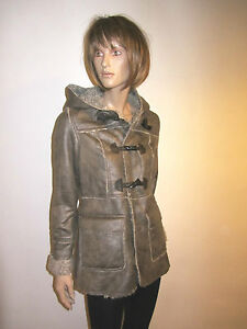 LADIES-WOMENS-DUFFLE-TOGGLE-HOODED-COAT-Ex-New-Look-JACKET-WINTER-COATS