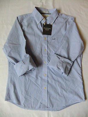 Abercrombie & Fitch Shirt, Stripes,long Sleeve Size M