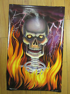 Death Fire Vintage Original Poster 1991 155