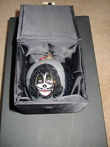 KISS-Blown-Glass-Hand-Painted-Gartlan-Ornament-1998-Gene-Simmons-Paul-Stanley