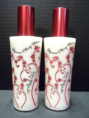 Bath Body Works Japanese Cherry Blossom Satin Body Veil Spray Moistuizer X 2