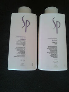 28,45 Euro/1000 ml Wella SP Repair Shampoo und Conditioner 1000 ml